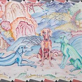 Brad Davis - Durer's Dogs