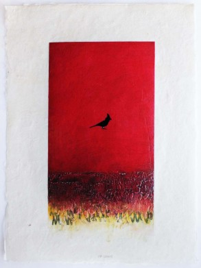 Hartment red bird