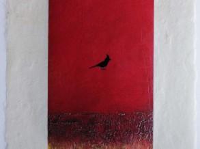 Hartment red bird