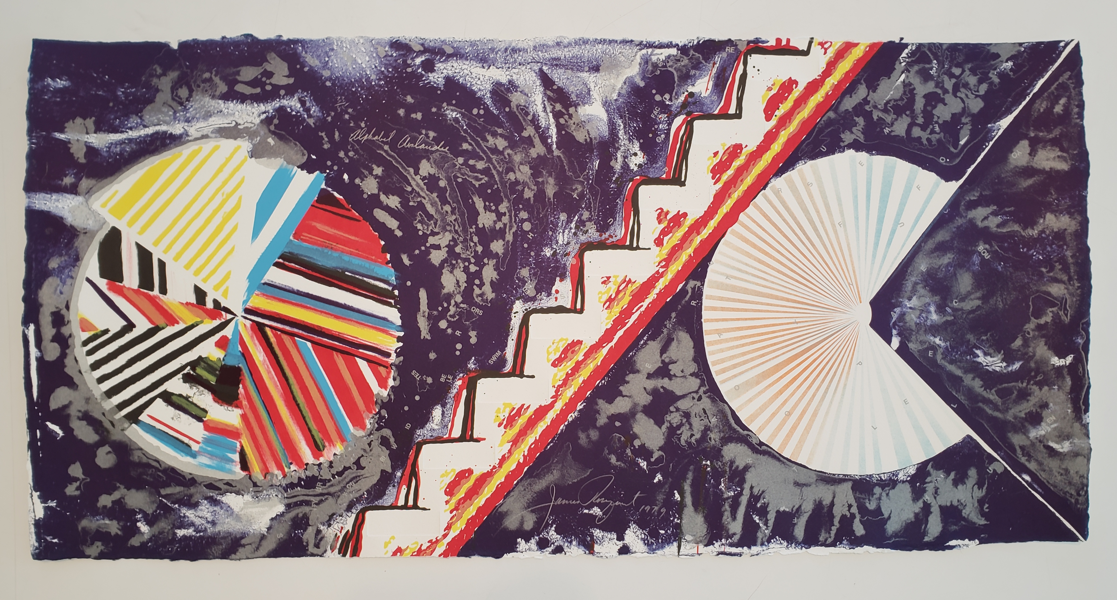 James Rosenquist - Allied Chemical Tower, Packed, Project for Number 1, Times Square, New York from the portfolio (Some) Not Realized Projects